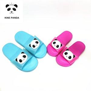 Коровьего PANDA Маленьких Детей Тапочки Девочка Мальчики малыши Детских тапочки Дети Cartoon Panda комнатный сад обувь 3 4 5 6 8 Years Old