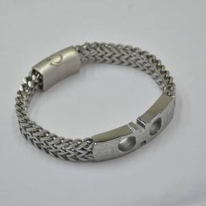Livraison gratuite - de haute qualité Bracelet Titane tissé Métal Special Design Luxe Français Homme Bijoux Charm Bracelets hommes Vêtements Pulseira cadeau