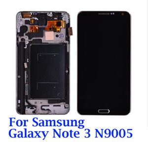 Çerçeveyi Çerçeve Montaj N9005 LCD ile Samsung Galaxy Note 3 N9005 LCD Ekran Dokunmatik Ekran Digitizer