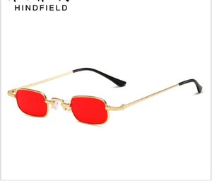 Personality Sunglasses retro small frame sunglasses trend hip-hop decorative glasses for men