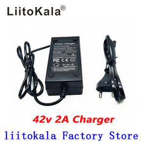 LiitoKala 36V 2A 18650 şarj çıkış 42V 2A Şarj giriş lityum Li iyon Li-poli Şarj için 10Series 36V Elektrikli Bisiklet