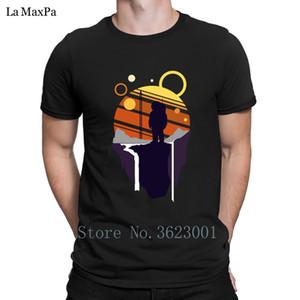 Equipaggiata uomini della maglietta maglia Explorer Astronaut Adventure T-shirt per gli uomini unisex maglietta Mens Slogan Tee Shirt collo regalo O