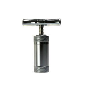 Liga de Aço Inoxidável / Zinco Compressor de Pólen de Compressor de Erva Pistola de Tabaco Prensa Triturador de Tabaco Trituradora de Tabaco para Bong Shisha