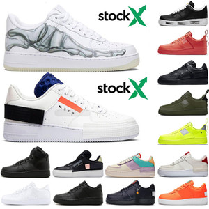 Nike air force 1  AF1 One 1 Dunk Casual Chaussures pour Hommes Noir Blanc Hommes Femmes Baskets Planche À Roulettes Skateboard High High Cut Wheat Brown Sport trainers