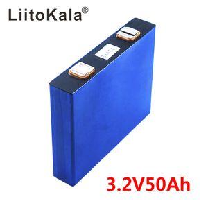 LiitoKala 3.2 v 50Ah LifePo4 батарея литий 150A 3C высокий слив для diy 12 В 24 в солнечный инвертор электрический автомобиль тренер гольф-кар