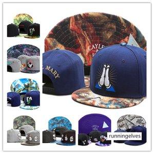 Chao  cayler sons snapbacks cigarette lighting gesture flat hat money counting hip-hop baseball cap