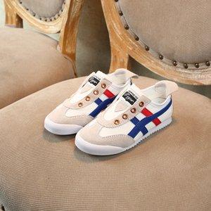 Los niños de diseño de los zapatos ocasionales Niños Niñas Moda Sport Running Wear 2020 zapatillas de deporte de lujo confortable y transpirable Slip-en los zapatos de 2020 nuevas