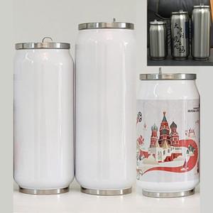MDF sublimazione di scambio di calore in bianco 280ml / 380ml / 450ml possono DIY304 tazza dell'isolamento doppio vuoto tazza di scambio di calore in acciaio inox