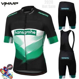 2020 New Man Cyclisme Maillot manches courtes Pro Set équipe Vêtements BORA-1 Hansgrohe Vêtements Custom Bike Race Cycl Uniforme Kit d'été