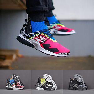 2019 Sigla X Presto 2.0 Mid Homens Mulheres Tênis De Corrida Rosa Azul Branco Verde Prestos de Ar Sapatos de Grife Camuflagem Graffiti Formadores Casuais