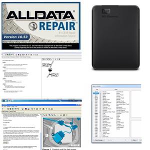 2019 Авто Ремонт Alldata Soft-ware Все 10.53 в 750 ГБ HDD usb3.0 Высококачественный жесткий диск Alldata Диагностический инструмент бесплатная доставка