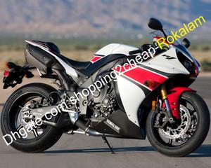 2012 2013 2014 YZF1000 R1 YZF-R1 12 13 14 Kırmızı Siyah beyaz Kaporta Kiti (enjeksiyon kalıplama) Yamaha YZF 1000 R1 için macun