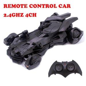 1:18 Batman RC автомобиль Лига Справедливости пульт дистанционного управления электрические игрушки модель Бэтмобиль RC спортивный автомобиль автомобиль