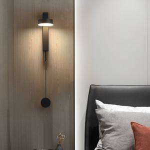 Nordic Camera novità ruotabile lampada metallo LED Luce a muro Soggiorno chiaro della parete della camera Led fissaggio Corridoio Led Sconce