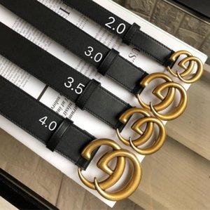 cintura in ottone classica luxurys DesignersGGcinture fibbia perla per mens donna Cintura jeans della vita della cinghia 2020