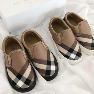Heiße Kinderschuhe klassisches Design Jungen und Mädchen Luxus Designer Sneakers Canvas atmungsaktive High-Top-Sneakers Kinder Sneakers Baby Girl Designer