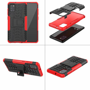 Hybrid Dazzle Case For Samsung Galaxy A70E M31 A41 A11 A51 5G A71 5G A31 Rugged Shockproof Armor Hard PC+TPU Anti-Skid Defender Tire Covers