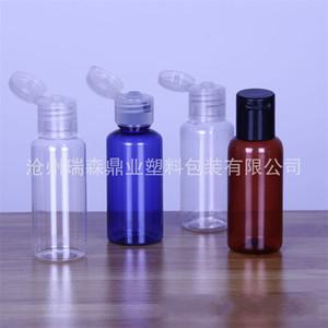30ml frasco vazio transparente Garrafas de plástico Sanitizer Armazenamento Emulsion Mousse Ar Livre Leve Rotating Capa portátil 0 28rs a2