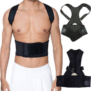 NEW Plus Size Unisex Back Posture Corrector Support Sport Correction Lumbar Shoulder Bracebelt