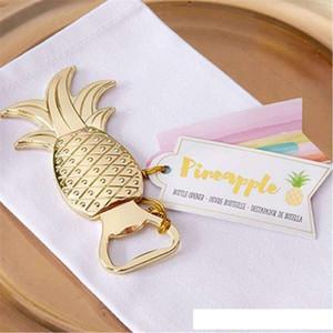 Golden Pineapple Shape Beer Wine Bottle Opener Barware Tool WedGolden Pineapple Shape Beer Wine Barware Tool c808
