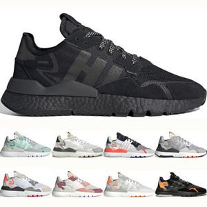 Adidas nite jogger boost Zapatillas deportivas para hombre Nite Jogger retro para hombre Clásico triple blanco negro rosado Zapatillas deportivas Zapatillas parte inferior exterior