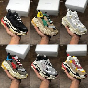 New Releases Paris Infant Kids Triple-S Track 3.0 Thick-soled Trainers Kids Boy Girl Youth Childrens Speed Runner Sock Shoes Vintage Sneaker