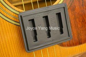 Kavaborg caoutchouc noir guitare Mute Silencer Quiet Guitar Practice Mute réduire le volume