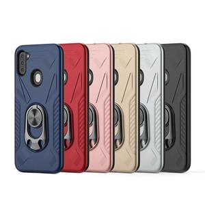 Pour Samsung A21 A11 Pour Motorola Moto E 2020 Moto E7 Moto G Bottle Opener Stylus Béquille Hybird Phone Case Cover Shookproof D1
