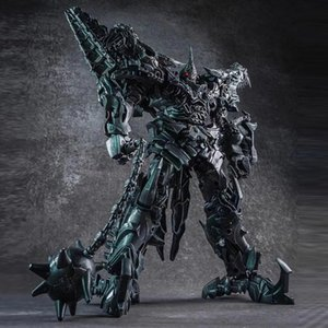 WJ Grimlock Alloy Metal Movie Film Oversize enlarged SS07 dinosaur Leader ancient Transformation Action Figure Toy gifts
