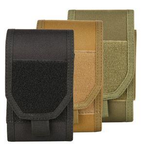 MOLLE Tactical Holster Army Camo Camuflaje Bolsa Gancho Loop Cinturón Bolsa Funda Funda Cubierta Equipo para exteriores
