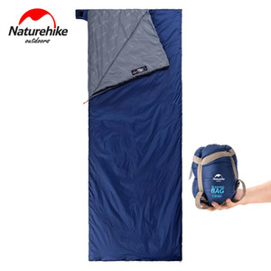 Naturehike Mini Splicing Double Envelope Portable Outdoor Teiming Ultralight Water Backping Cotton Sleeping Bag