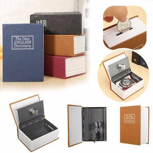 NOUVEAU Home Storage Coffre-fort Dictionnaire Dictionnaire Banque Argent Cash Bijoux Caché Secret Securité Casier Avec Verrouillage À Clé Drop Shipping