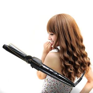 5 en 1 multifunción rizador de pelo conjunto alisador peine del pelo cónico caliente que se encrespa cepillo grano que se encrespa hierro cerámica herramientas de peinado