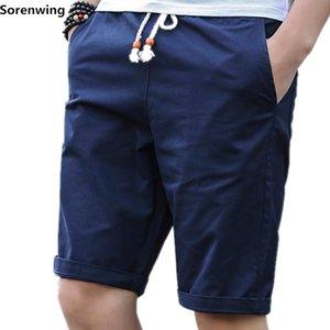 Sorenwing hombres de los cortocircuitos cortos para hombre de algodón para hombre hombres de los cortocircuitos Short de la marca homme boardshorts corredores bermudas casual masculina Masculina 01