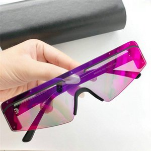 new fashion women brand designer sunglasses 0003 cat eye frame sunglasses fashion show design summer style with box
