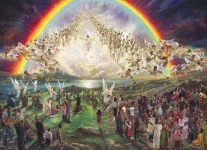 Nathan Greene Die gesegnete Hoffnung Zweiter Kommen von Jesus Christus Home Decor HD Print Ölgemälde auf Leinwand Wandkunst Leinwandbilder 200110