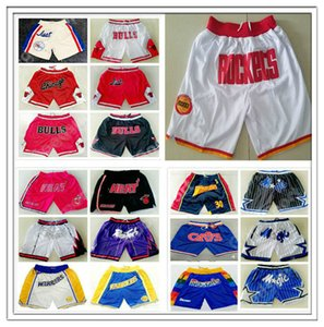 RETRO SHORTS JUST DONE james irving curry STOCKTON MALONE Wade durant IVERSON embiid CARTER LEONARD DONCIC ALLEN PIPPEN SPORT HOT SALE cheap