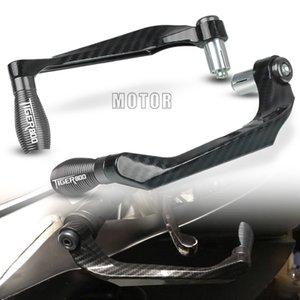 """Para Tiger 800 / XC / XCX / XR / XRX 2015-2018 Tiger800 motocicleta 7/8"""" 22mm Manillar freno palancas de embrague Guardia Proteger Proguard"""