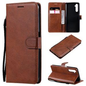 Pour OPPO Realme 6/6 Realme Case Pro Flip Cover Wallet stand PU Sacs de téléphone en cuir pour OPPO Trouver X2 / Trouver X2 Pro