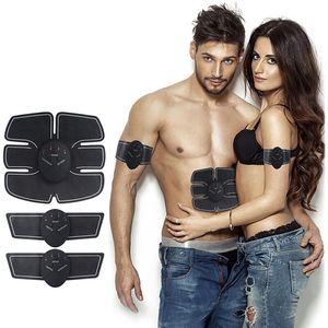 Muscle Aparelho Electro Estimulador ABS Electrostimulator Abdominal massageador elétrico Fitness Formação Machine Building Corpo frete grátis