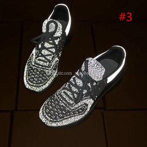 2020 Fashionable and high quality Casual shoes Designer Sneakers Casual Shoes Mens Womens Brand Luxury Designer Knitted Mesh Breathable Com