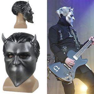 2019 New Hot Ghost, BC Rock Roll Band, masque de cosplay, masque sans nom, costume de goule accessoires, casque, adulte, fantôme, C.-B.