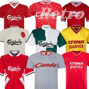 DALGLISH Retro Soccer Jersey Gerrard 2005 Smicer Alonso 10 11 Football Shirts TORRES 82 89 91 94 Maillot 85 86 Kuyt Keane 08 09 SUAREZ