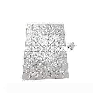 Un puzzle puzzle di carta bianca per il trasferimento di calore fai da te stampa carte di puzzle formato A4 per i bambini fai da te Bianco trasferimento termico Pearlescent