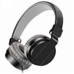 fábrica al por mayor 100pcs / lot DHL LIBRE SHIP Auricular plegable del teléfono móvil de la computadora del auricular del movimiento Manos Libres Headset Neutro