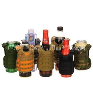 Garrafa de água Tampa Mini Vest Beer Cup Proteger luva Titular Personalidade Decore Colete para casa e Bar popular usado 14wd H1