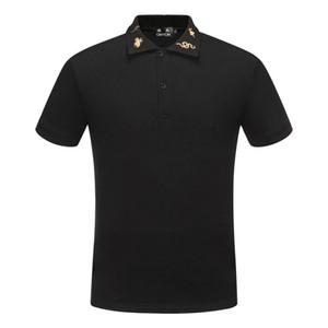 polo solide DUYOU nuovo progettista di lusso degli uomini polo uomini marchio di moda di abbigliamento estivo di qualità 100% cotone casuale maschio Polo