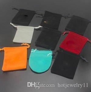Новые горячие продажи кольца ожерелье серьги упаковочной коробки мешки для сбора пыли ювелирных изделий Упаковка Малый квадратные сумки Малый Подарочные мешки пыли оптом