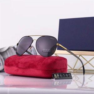 Popular Pilot Sunglasses Mens Polarized Sunglass Metal Frame Lentes Eyewear Men Fashion Driving Sun Glasses