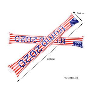 스틱 소음 발생기 미국 총선거 공급을 응원 트럼프 2020 미국 국기와 풍선 스틱 치어 리더 스틱에 대하여